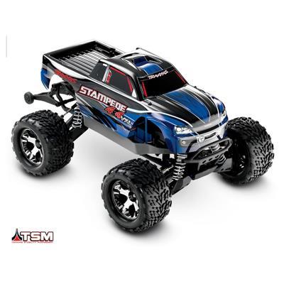 Stampede 4x4 VXL 1/10 Brushless - Wireless - TSM - iD