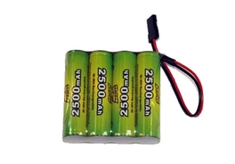 Batteries de réception NiMh 4,8V