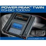Chargeur Power Peak TWIN EQ-BID 2x500W 12V