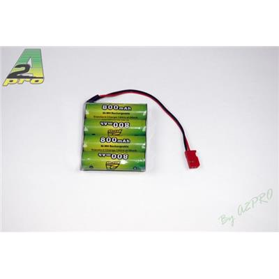 Batterie réception NiMh 4,8V 800mAh AA FUTABA