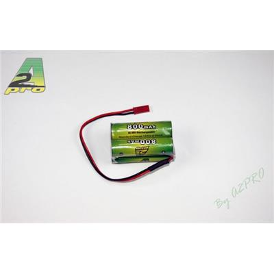 Batterie réception NiMh 4,8V 800mAh AA BEC