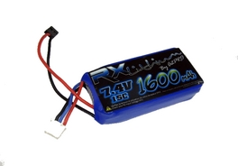 Batteries de réception LiPo 2S 7.4V 15C